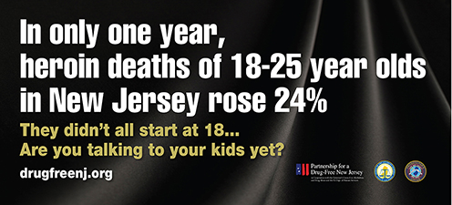 Heroin Deaths Billboard