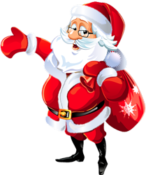 Transparent_Mr_Santa_Claus_Clipart