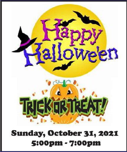 Trick-or-treat-Hours